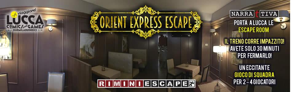 Lucca Comics&Games Room Escape